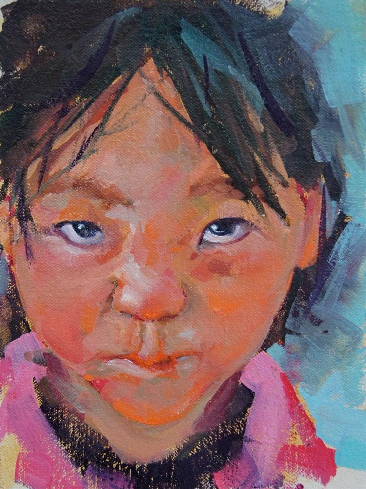"""""""Little Sniffles"""" original fine art by Brian Buckrell"""
