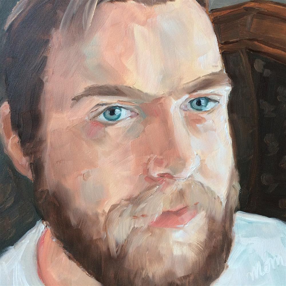 """""""Ethan"""" original fine art by Carol Stickley"""