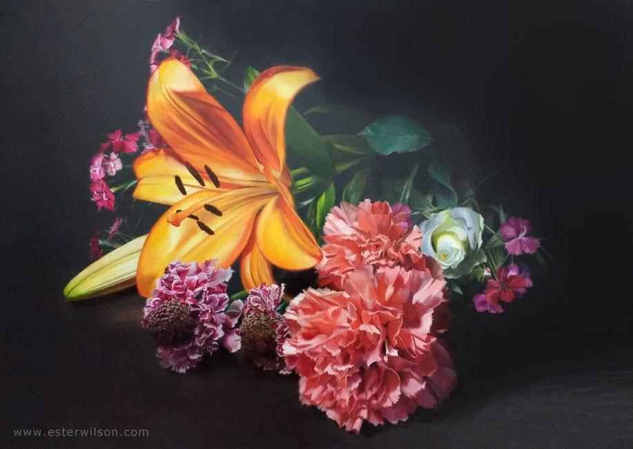 """Gift"" original fine art by Ester Wilson"