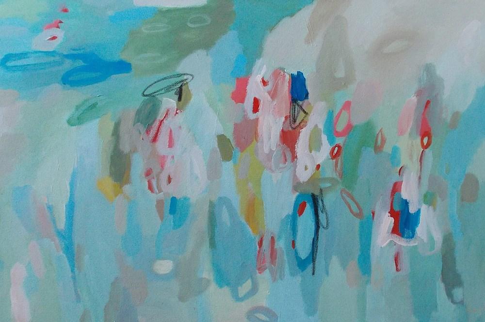 """Quicken III"" original fine art by Pamela Munger"