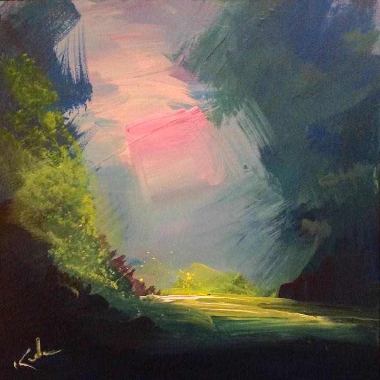"""Away in Time"" original fine art by David Kuhn"