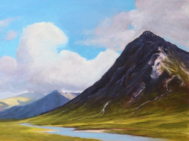 """Song of Summer"" original fine art by Sharon Lewis"