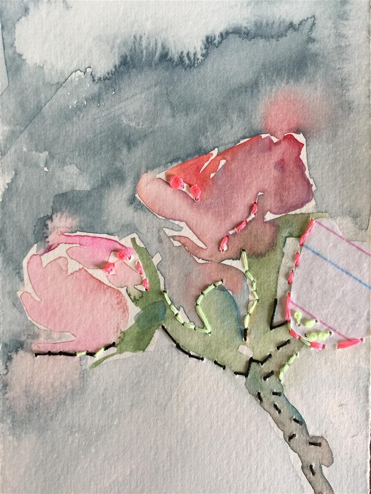 """207 Trio"" original fine art by Jenny Doh"