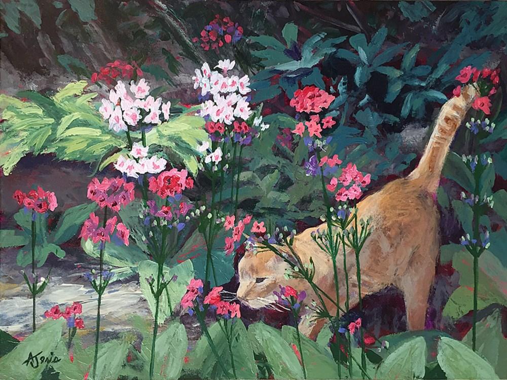 """Morning Exploring"" original fine art by Andrea Jeris"