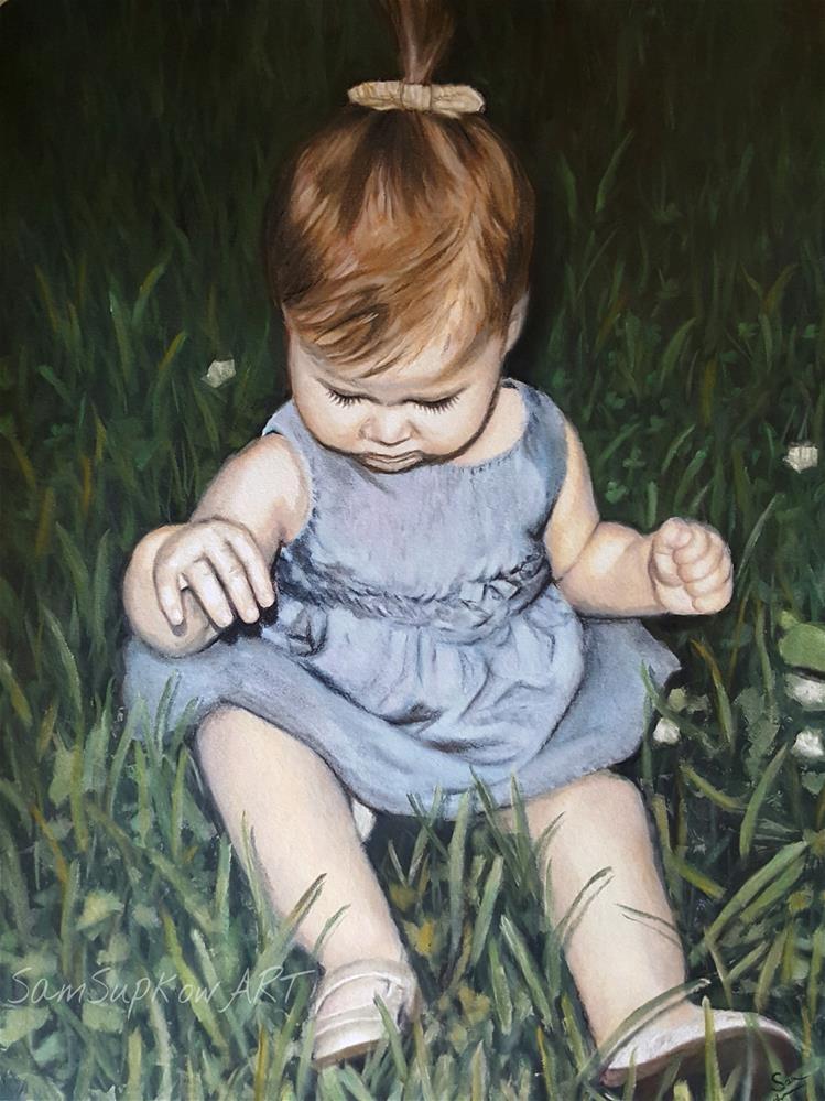 """""""Paint it Black """" original fine art by Sam Supkow"""