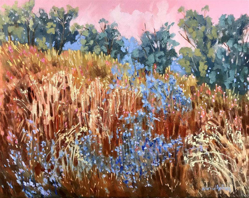 """Field Three Glory"" original fine art by Linda Blondheim"