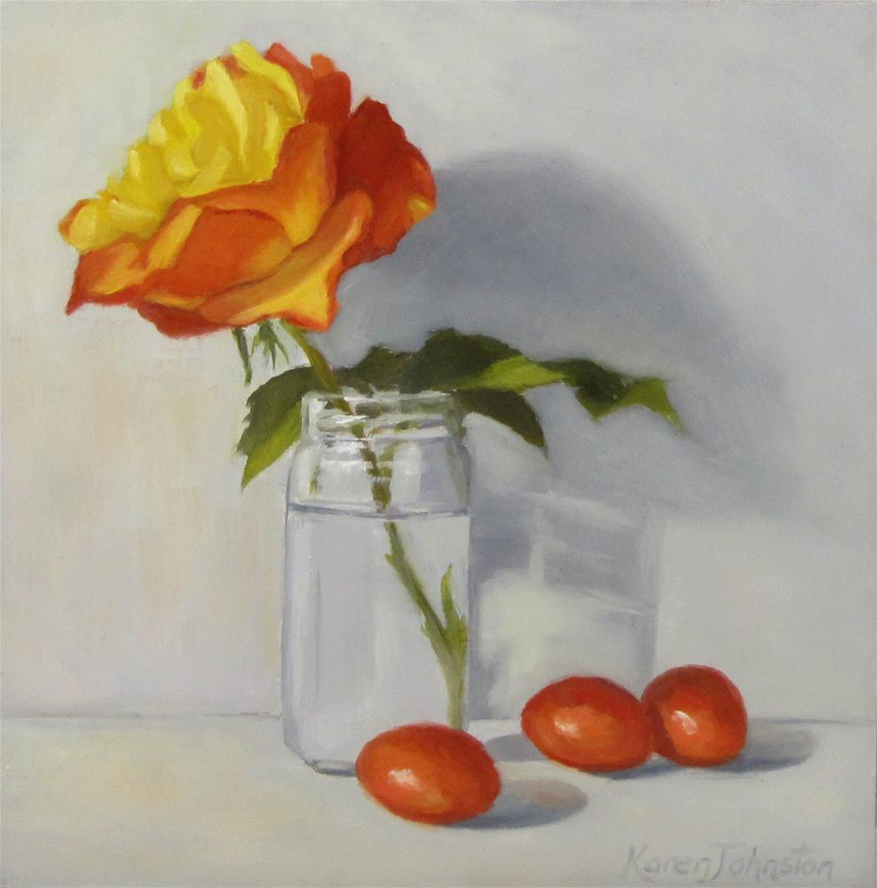 """Simple Pleasures"" original fine art by Karen Johnston"
