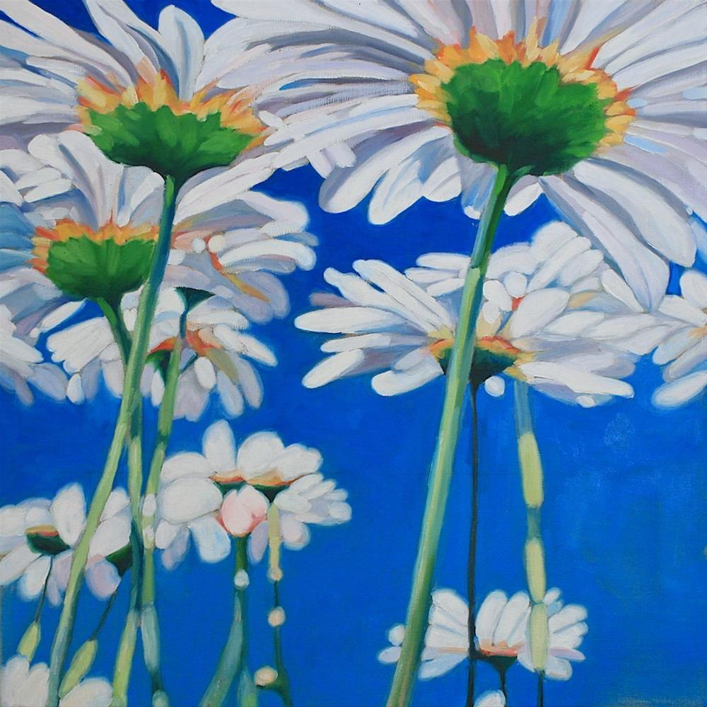 """""""Looking Up"""" original fine art by Mary Anne Cary"""