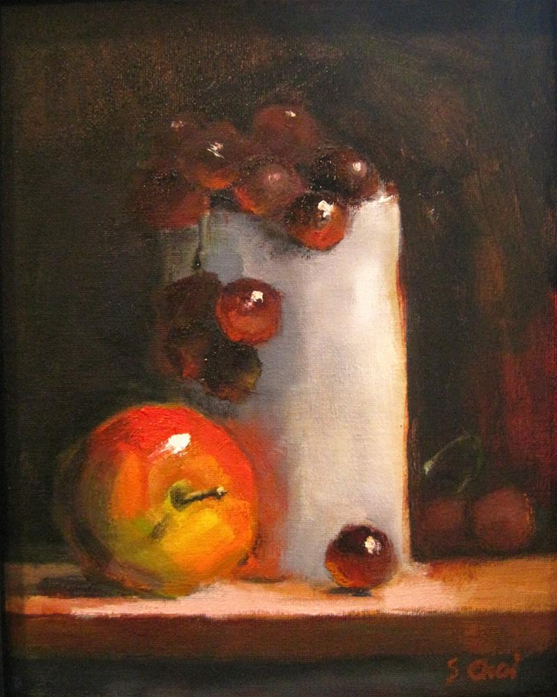 """""""Full of grapes"""" original fine art by Sunkyung Choi"""
