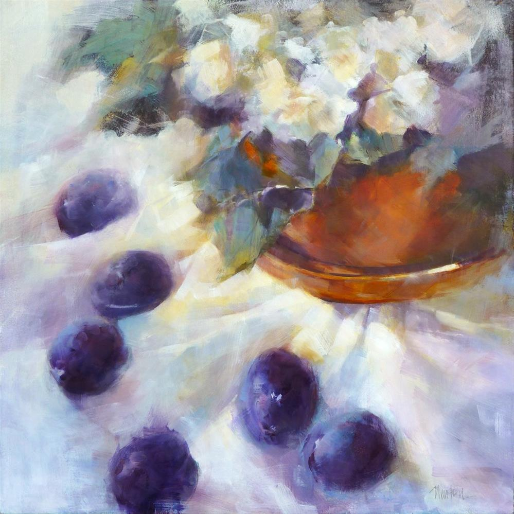 """September Song"" original fine art by Barbara Benedetti Newton"