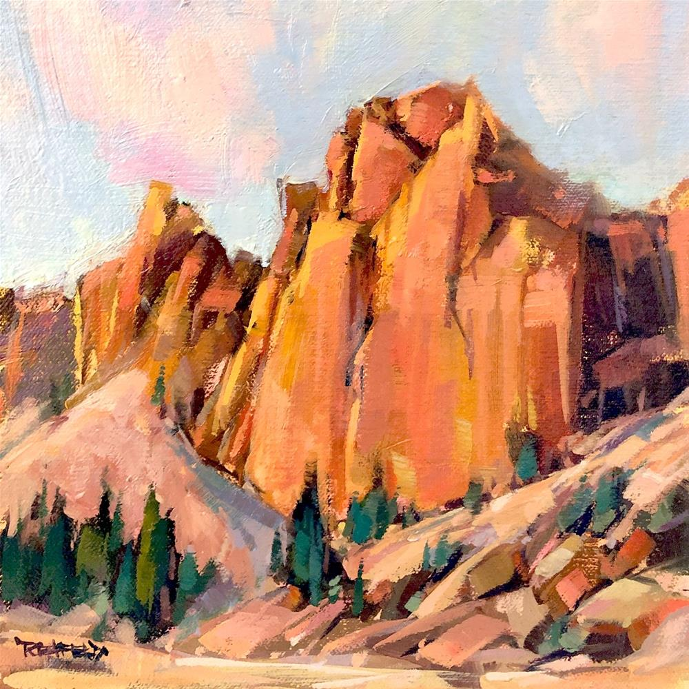 """Smith Rock"" original fine art by Cathleen Rehfeld"
