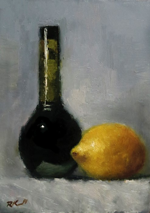 """Balsamic and Lemon"" original fine art by Bob Kimball"