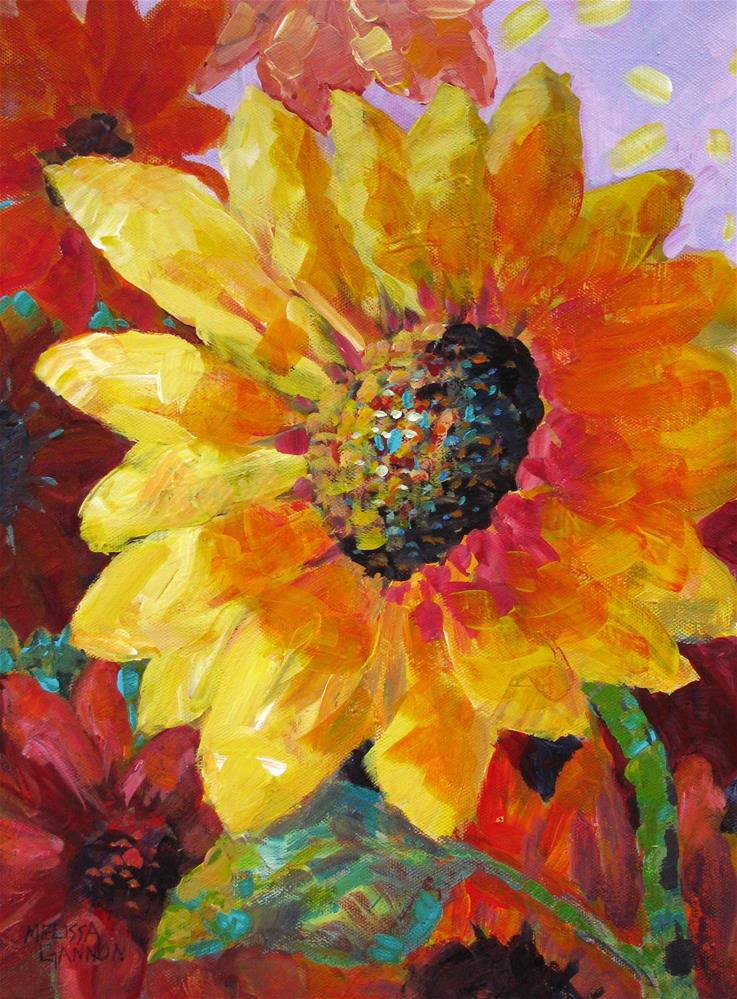 """Sun Dance"" original fine art by Melissa Gannon"