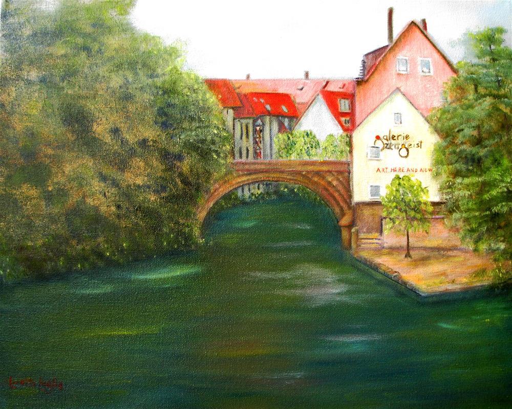 """Old Nuremberg"" original fine art by Loretta Luglio"