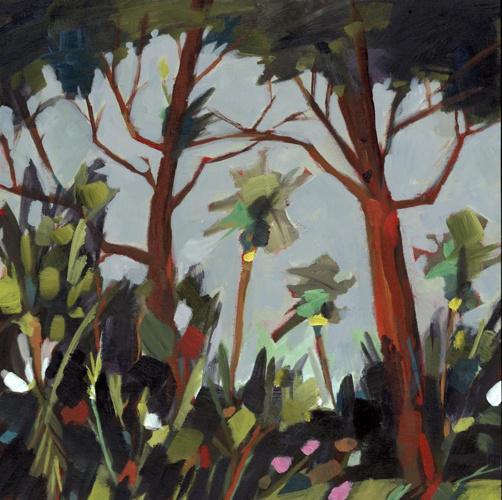 """0685: Hammock"" original fine art by Brian Miller"