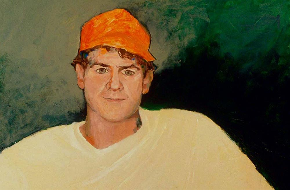 """""""Dan"""" original fine art by Marie Lynch"""