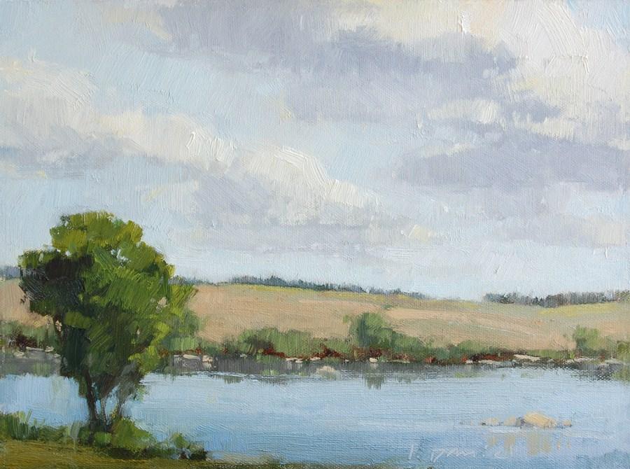 """Peace on the Llano"" original fine art by Laurel Daniel"
