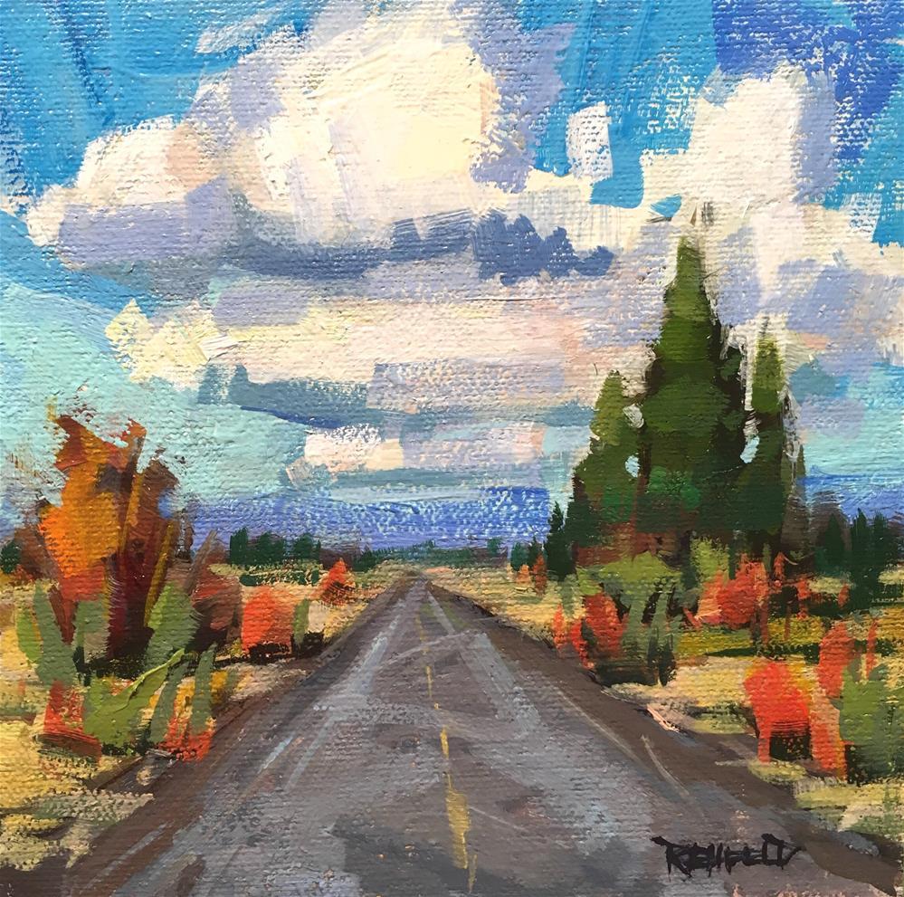 """Road To Somewhere"" original fine art by Cathleen Rehfeld"