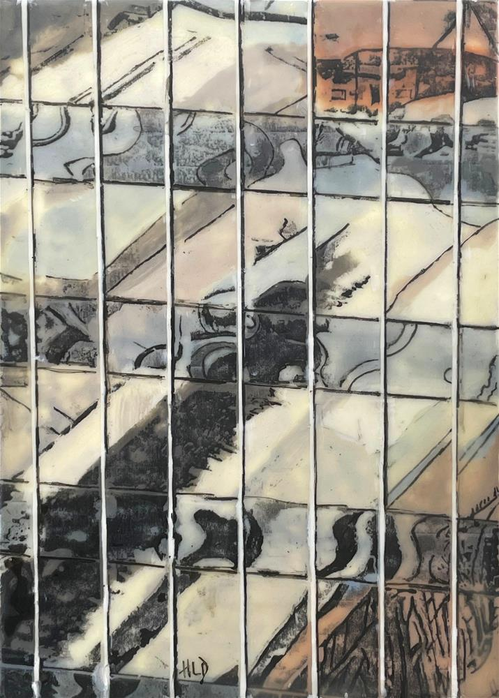 """window Reflections"" original fine art by Heather Douglas"