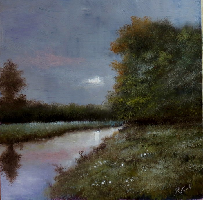 """Twilight"" original fine art by Bob Kimball"
