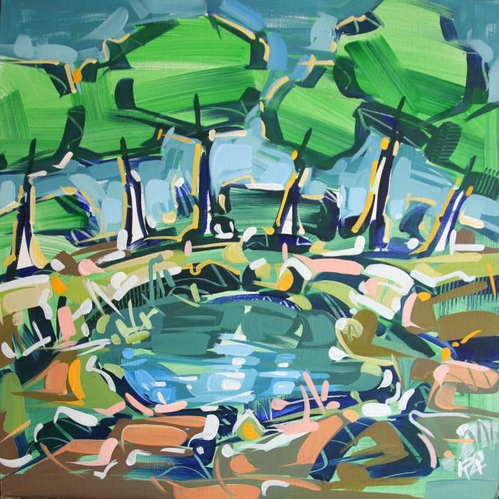 """Landscape Exploration 23"" original fine art by Roger Akesson"