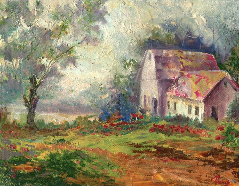 """""""A Perfect Day """" original fine art by R. S. Perry"""