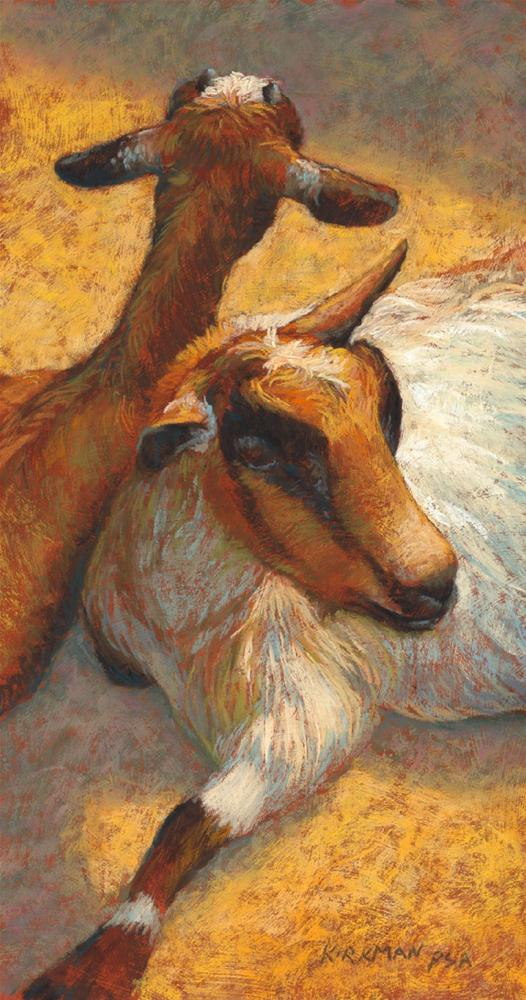 """Buddies"" original fine art by Rita Kirkman"