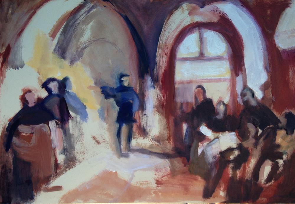 """Classical Sketch"" original fine art by Pamela Hoffmeister"