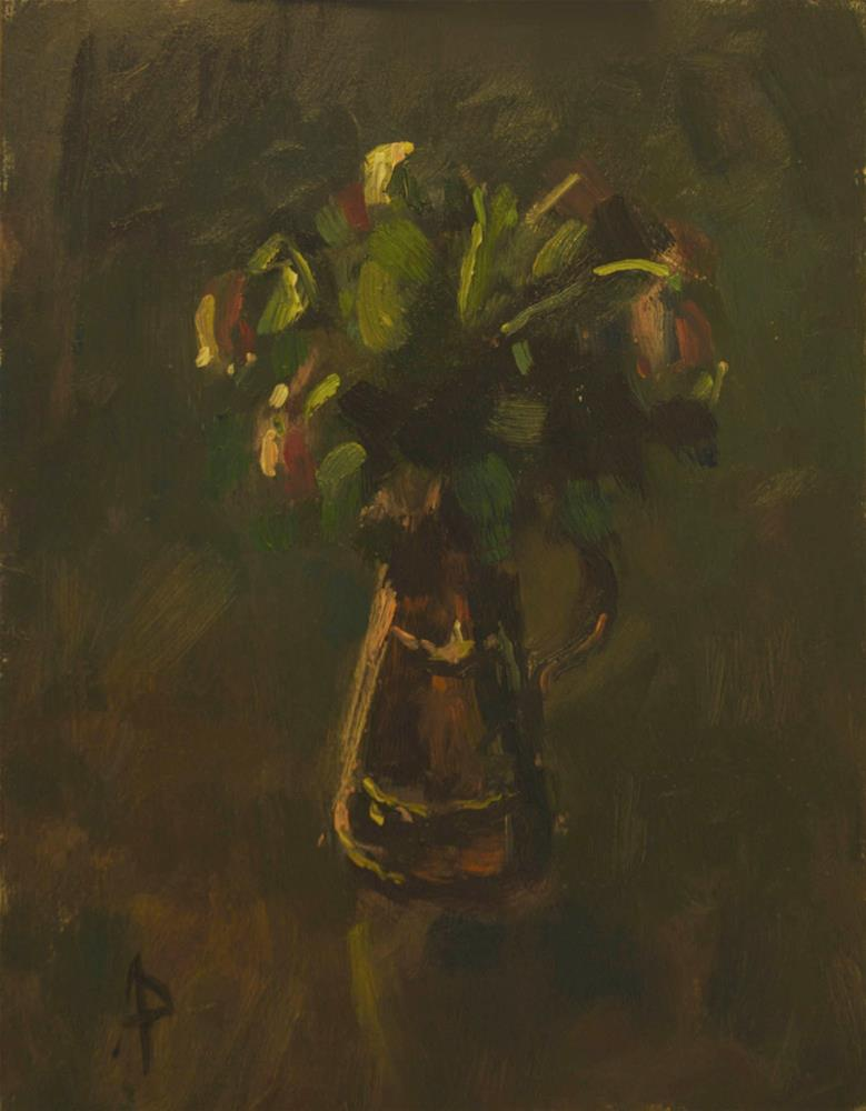 """""""'Old' Roses"""" original fine art by Andre Pallat"""