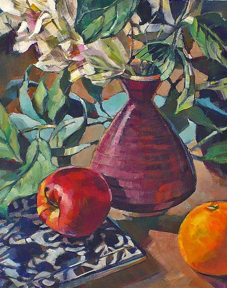 """""""Don's Pot"""" original fine art by Nicoletta Baumeister"""