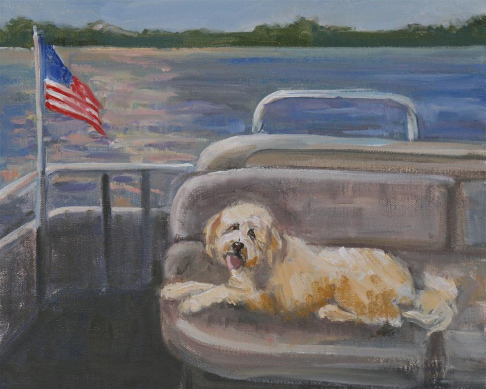 """first mate"" original fine art by Carol Carmichael"