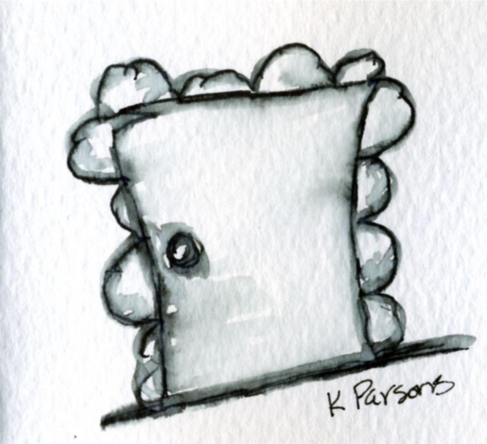 """Shades of Gray Portal"" original fine art by Kali Parsons"