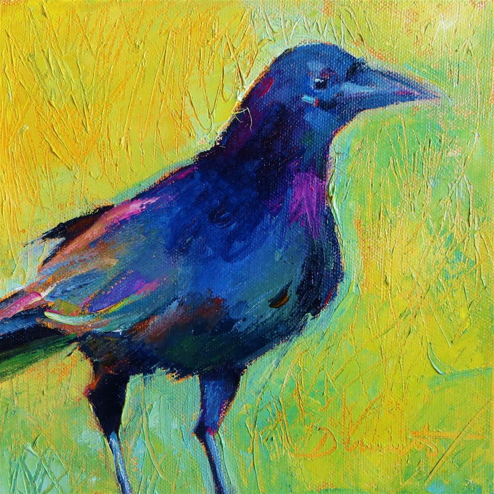 """That's So Raven"" original fine art by Scarlet Owl Studio"