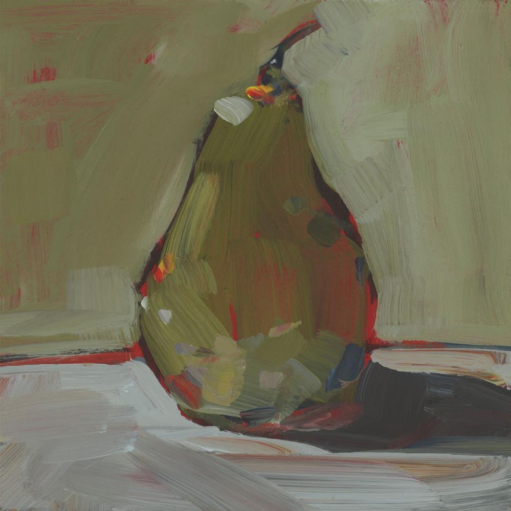 """1159: Pear Demo"" original fine art by Brian Miller"