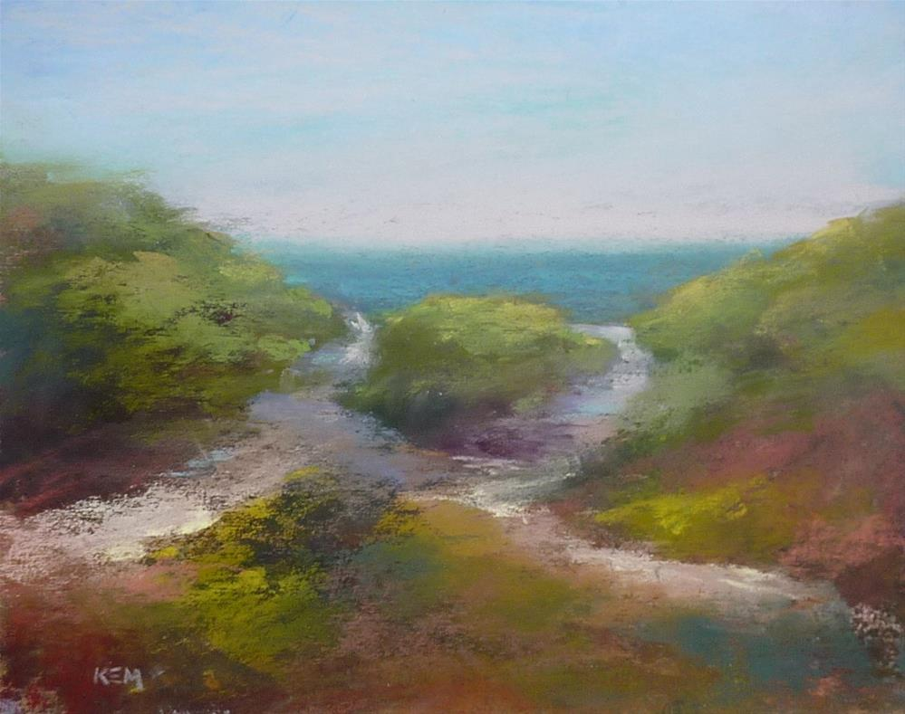 """Over the Dunes"" original fine art by Karen Margulis"