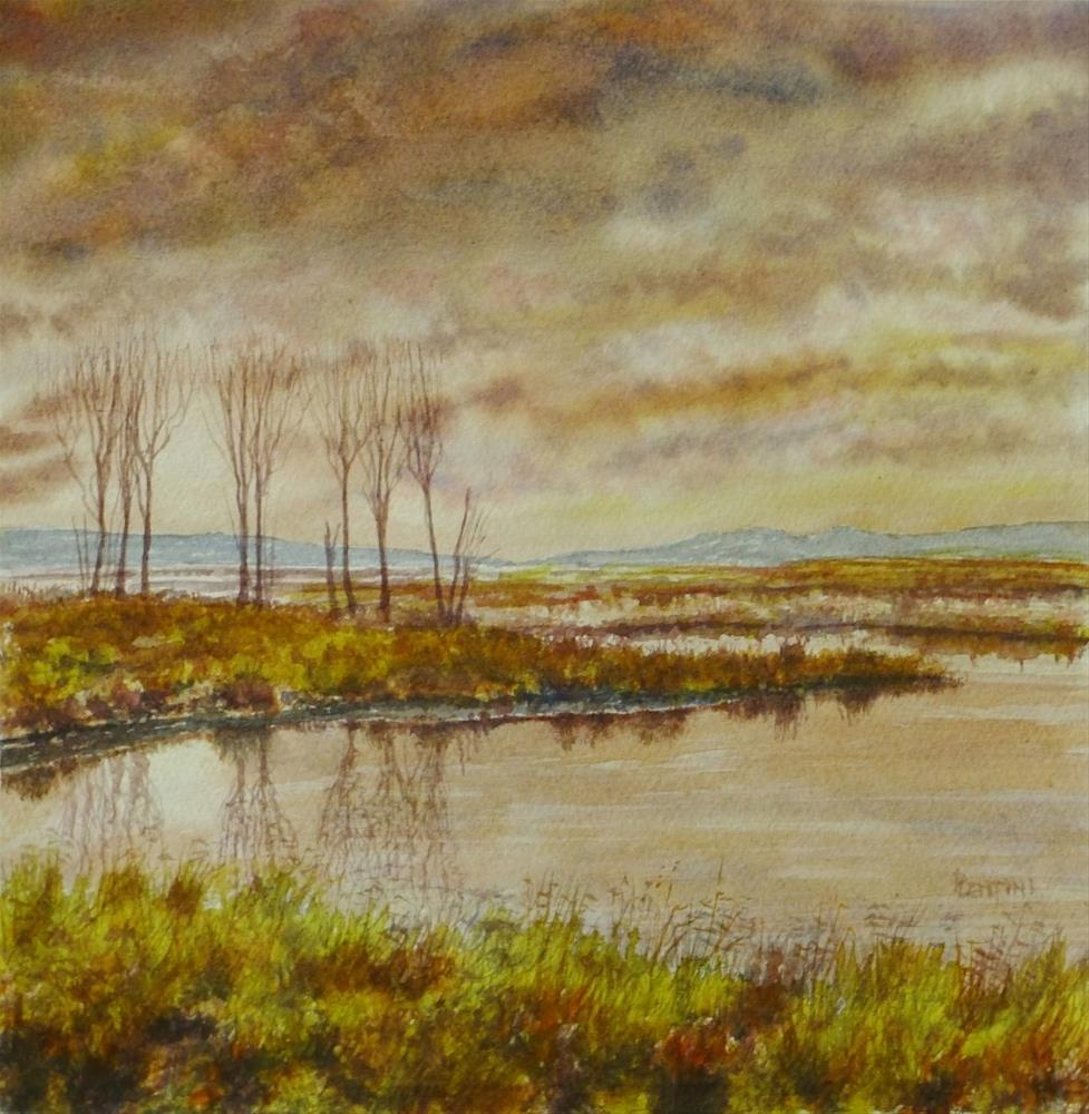 """""""Early Spring"""" original fine art by Peter Lentini"""