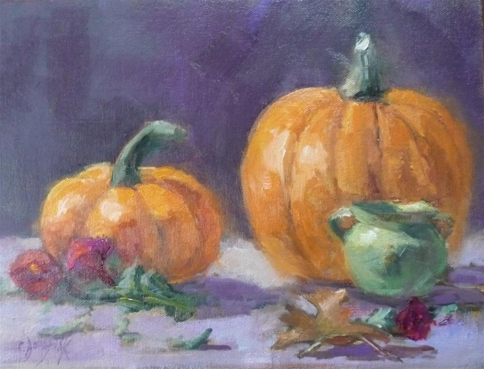 """Fall Day"" original fine art by Carol Josefiak"