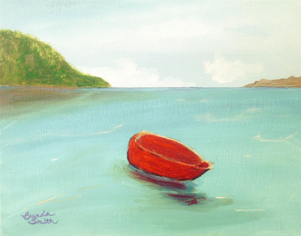 """Adrift"" original fine art by Brenda Smith"