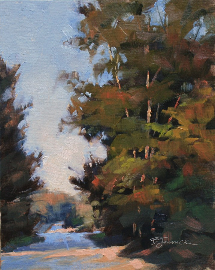 """Summertime Fading"" original fine art by Barbara Jaenicke"