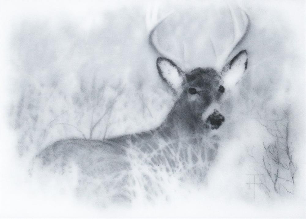 """In The Meadow"" original fine art by Terri Heinrichs"