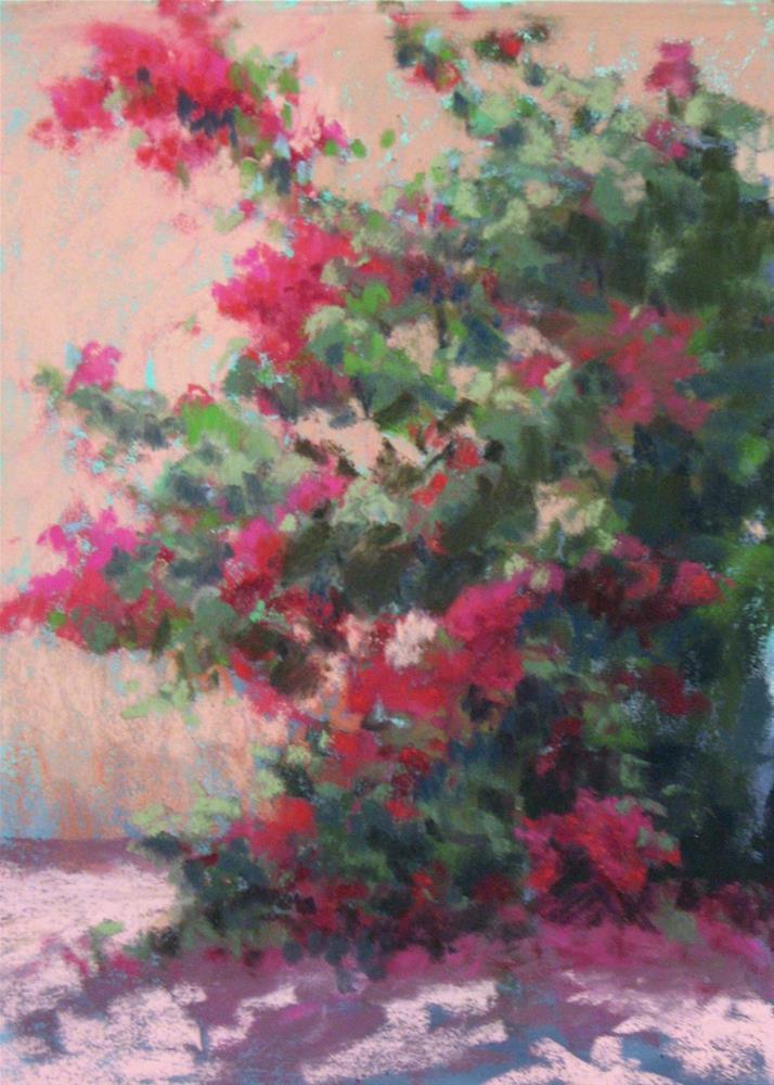"""""""Red Bouquet"""" original fine art by Marsha Savage"""