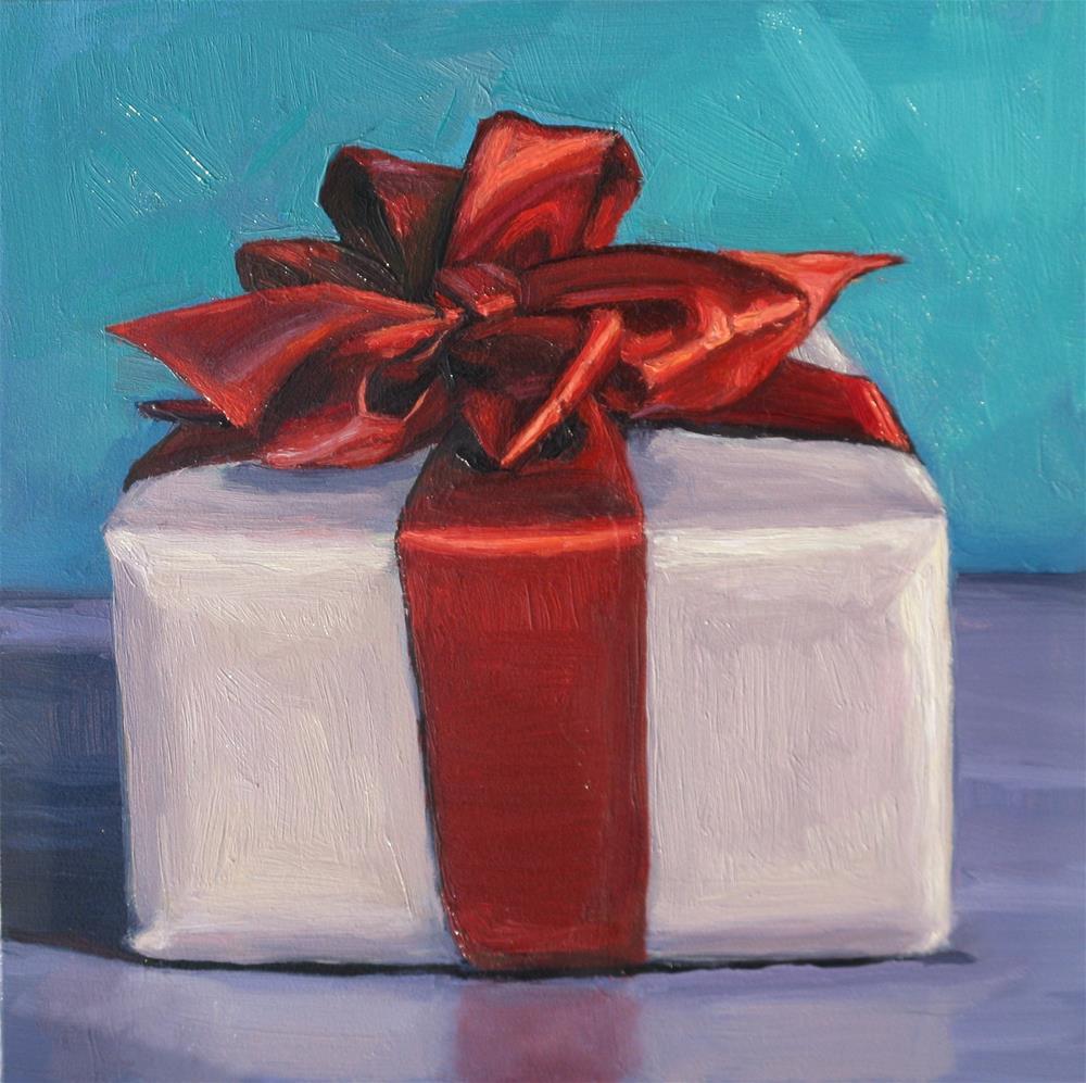 """The Gift"" original fine art by Heather Nibert"