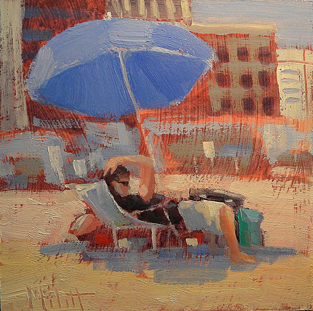 """Beach Bumming Spring Break Series Heidi Malott"" original fine art by Heidi Malott"