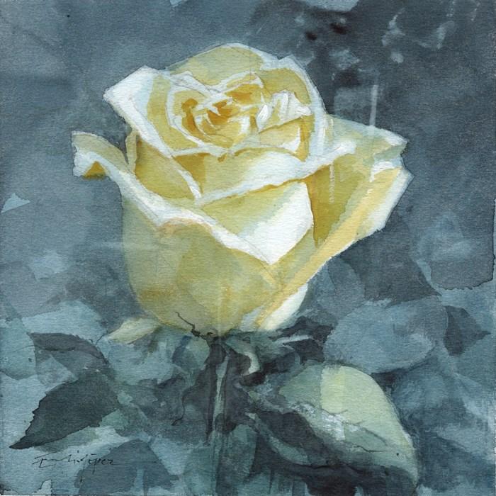 """""""Flores 44"""" original fine art by Emilio López"""