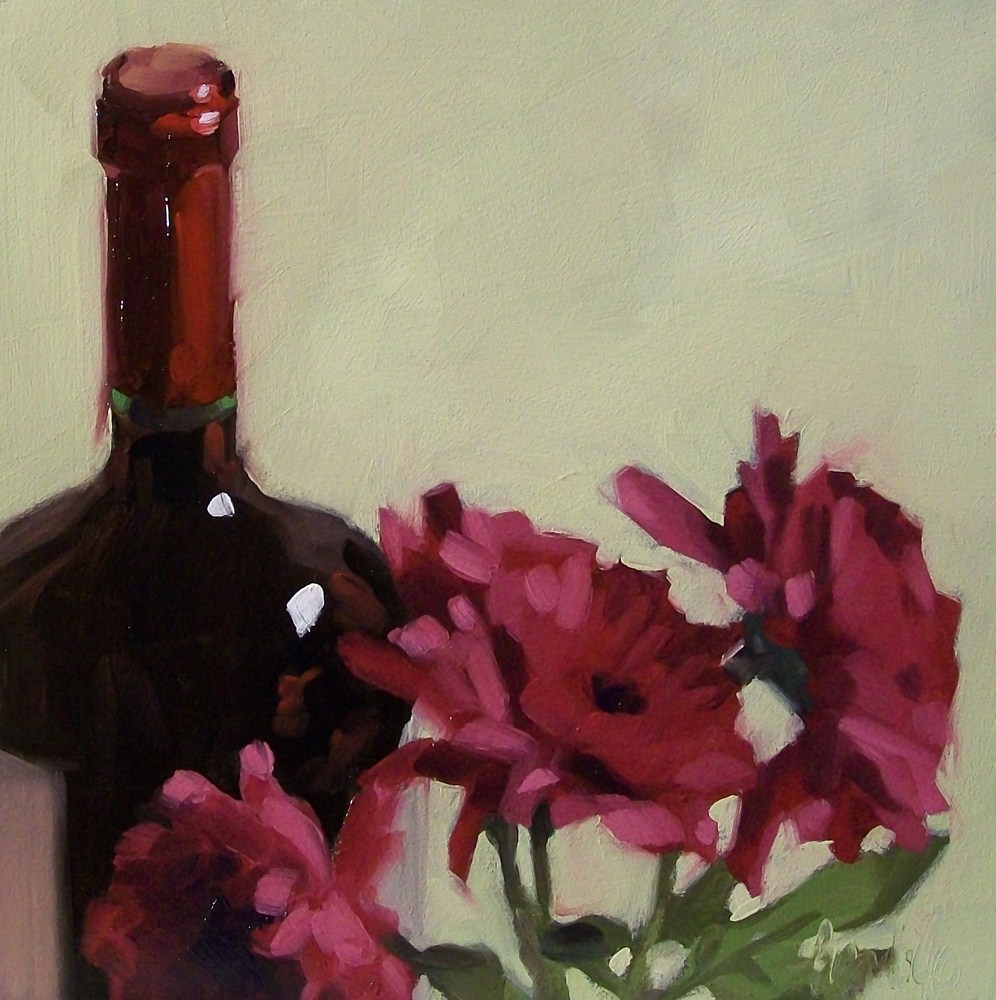"""Merlot"" original fine art by Brandi Bowman"