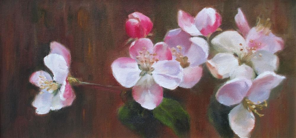 """Taking a Bough"" original fine art by Linda Carney"