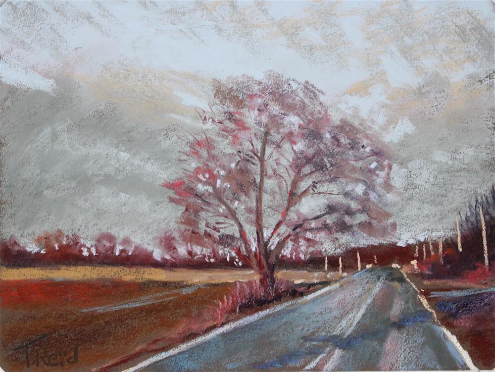 """Afternoon Clouds"" original fine art by Toby Reid"