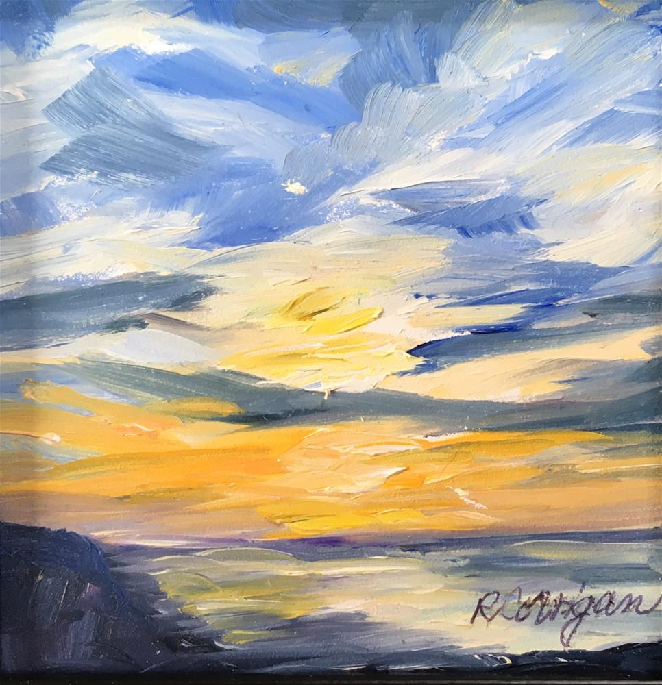 """July Subset"" original fine art by Rita Corrigan"