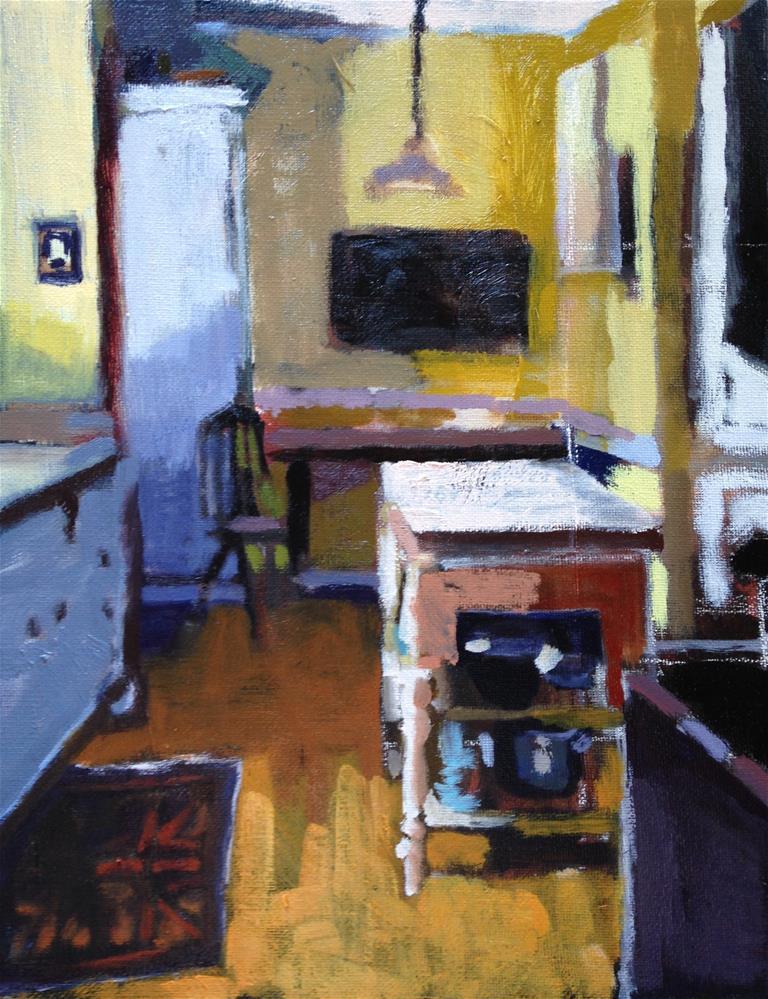 """Kitchen II"" original fine art by Pamela Hoffmeister"