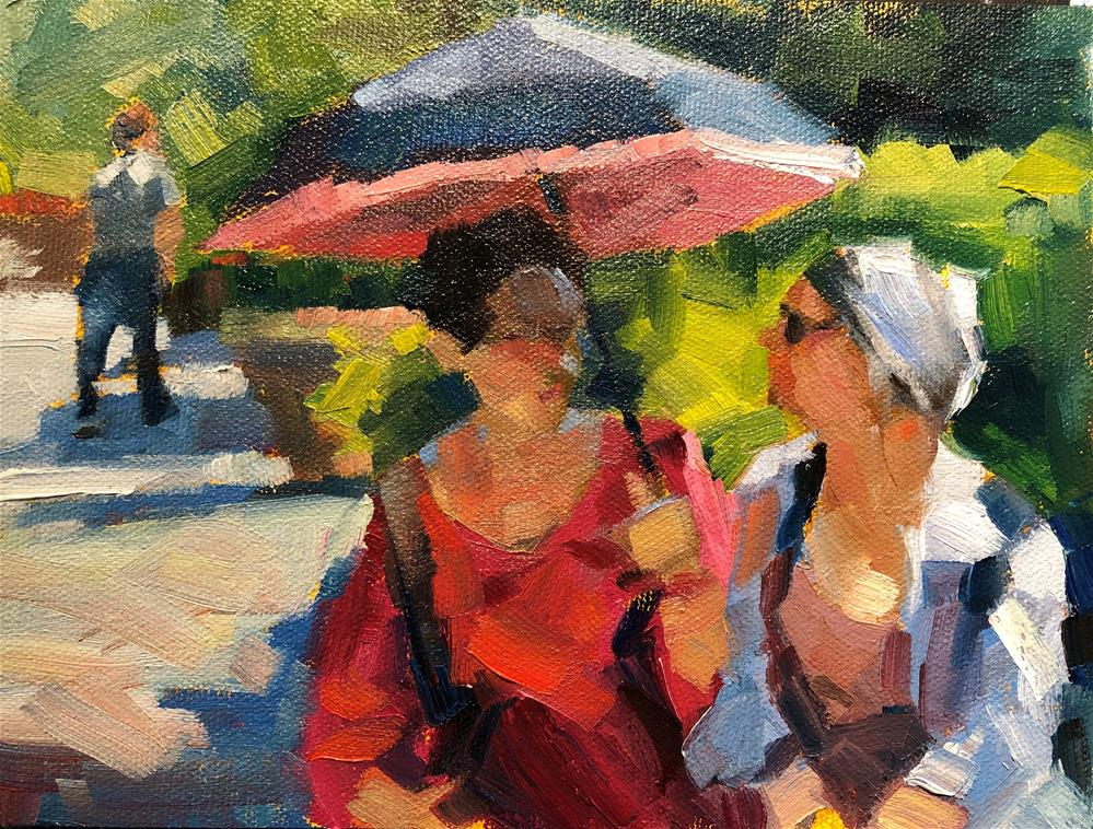"""Italian Afternoon"" original fine art by Marla Baggetta"